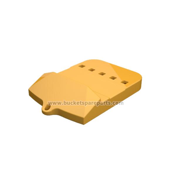 109-9030 Caterpillar half arrow bolt-on 5 holes center edge lip shroud protection used for wheel loaders 994