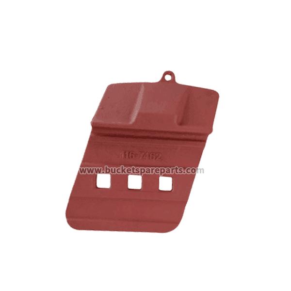 116-7462 Caterpillar Loader 980F 980G 988B 988F Bucket wear parts wear protection half-arrow bucket base edge protection segment weld-on shroud construction shroud protective earthmoving wear parts