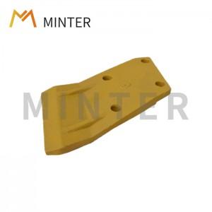 Reasonable price Spanish Bucket Tooth - Komatsu style Direct replacement parts Excavator PC100-PC200 bucket side cutter bucket corner protecto – Minter Machinery