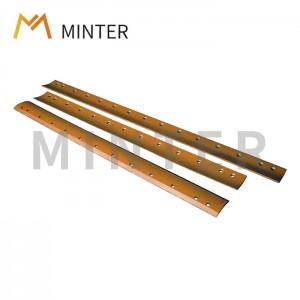 High Quality for Standard Bucket Teeth - Caterpillar Cat Motor Grader Blades Cutting edge Grader blades – Minter Machinery