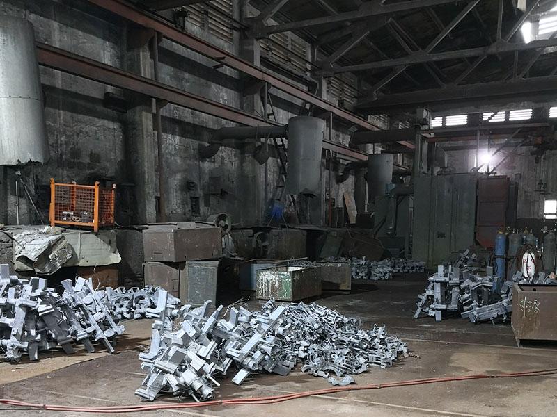 gas cutting plant